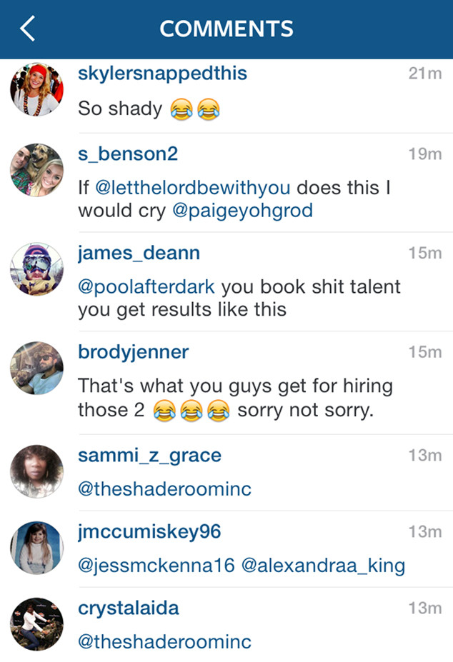 Brody Jenner, Rob Kardashian, Blac Chyna, Instagram