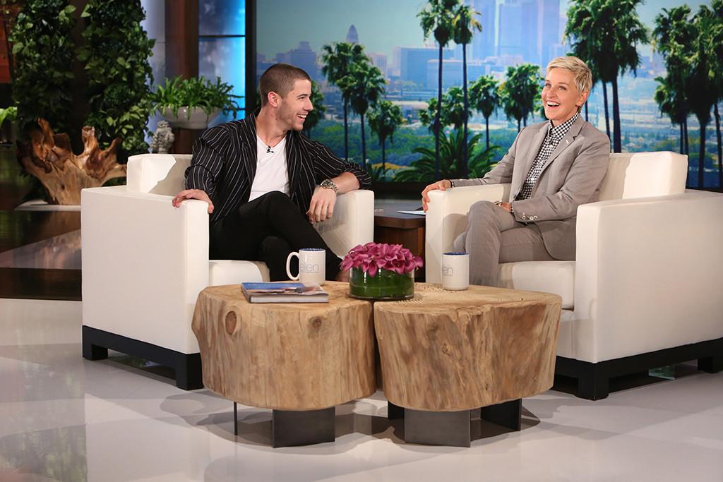 Nick Jonas, Ellen DeGeneres