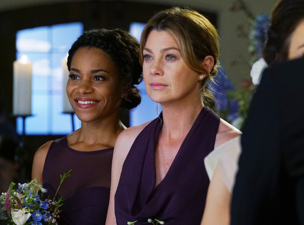 Ellen Pompeo, Kelly McCreary, Grey's Anatomy