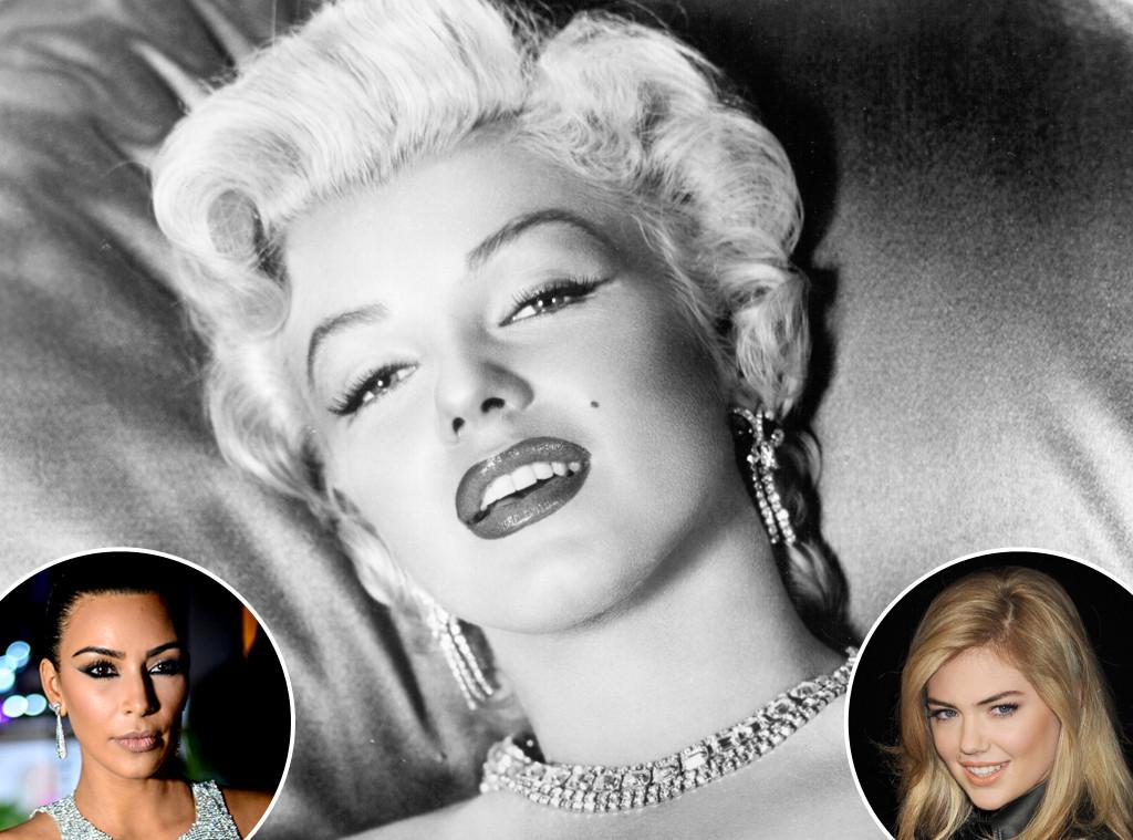 Kim Kardashian, Marilyn Monroe, Kate Upton