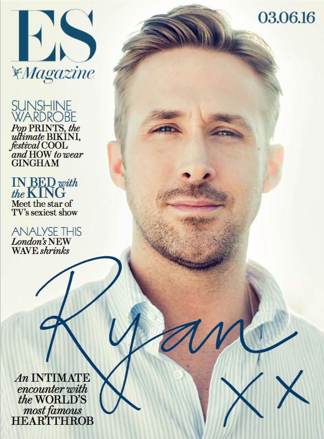 Ryan Gosling, ES Magazine