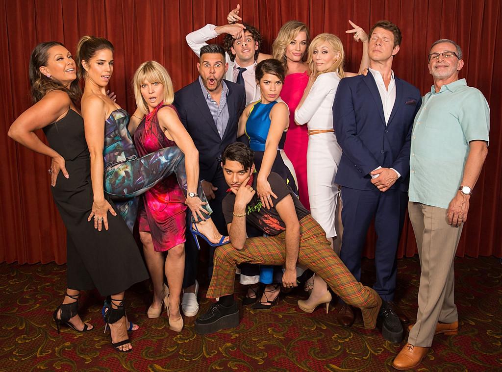 Ugly Betty Cast Reunion, Vanessa Williams, Ana Ortiz, Ashley Jensen, Silvio Horta, Michael Uri, America Ferrera, Rebecca Romijn