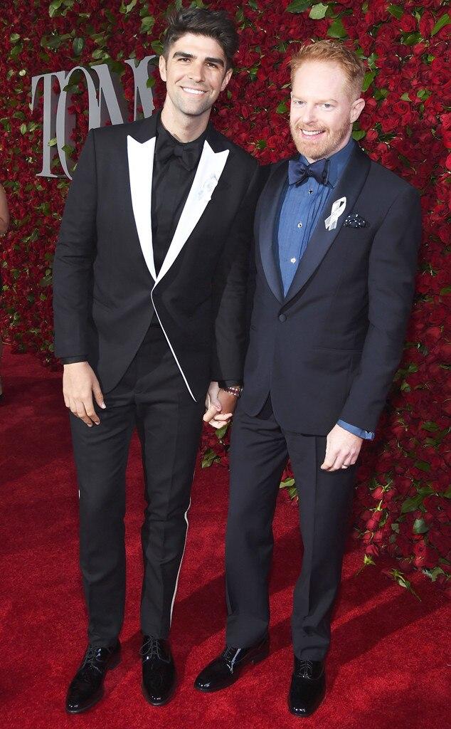 Justin Mikita,Jesse Tyler Ferguson, Tony Awards 2016