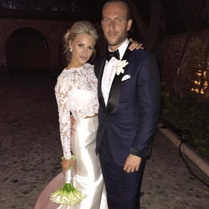 Morgan Stewart, Brendan Fitzpatrick, Wedding