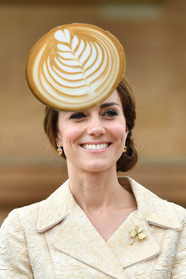 Kate Middleton, Catherine Duchess of Cambridge, Latte Art