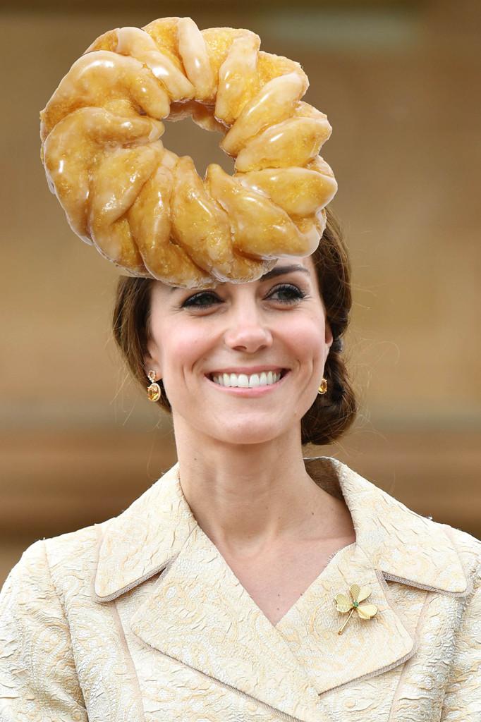 Kate Middleton, Catherine Duchess of Cambridge, Cruller Doughnut