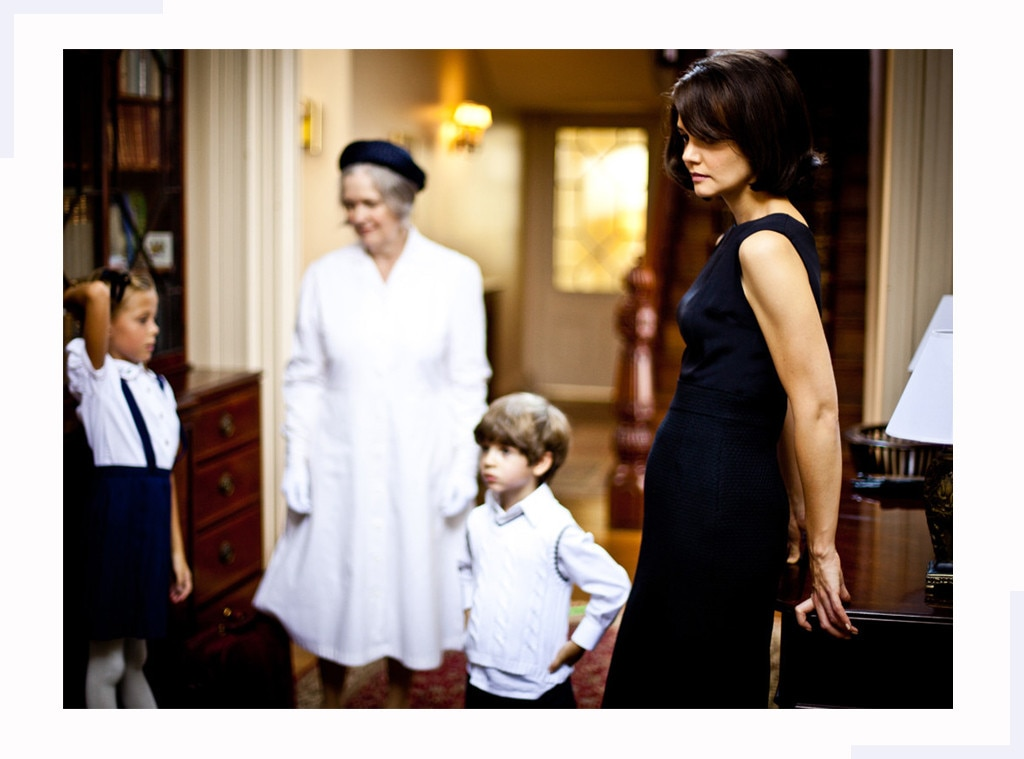 Photo #705513 from Cop Katie Holmes' Jackie Kennedy Style