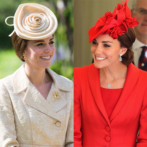 Kate Middleton, Fascinators