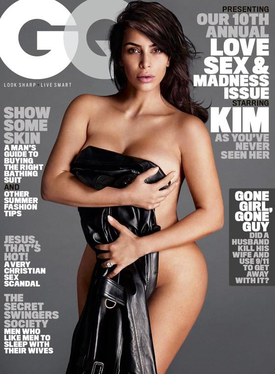 Kim Kardashian, GQ Magazine