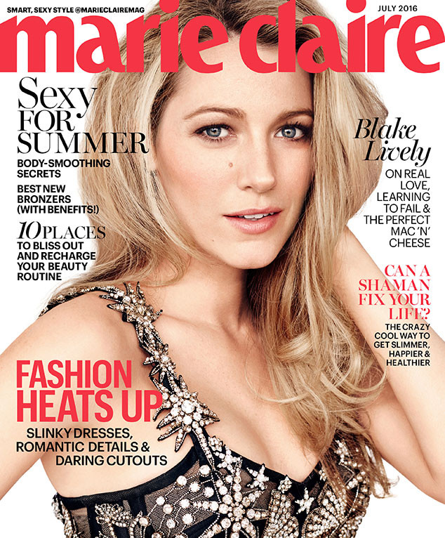 Blake Lively, Marie Claire, July Issue