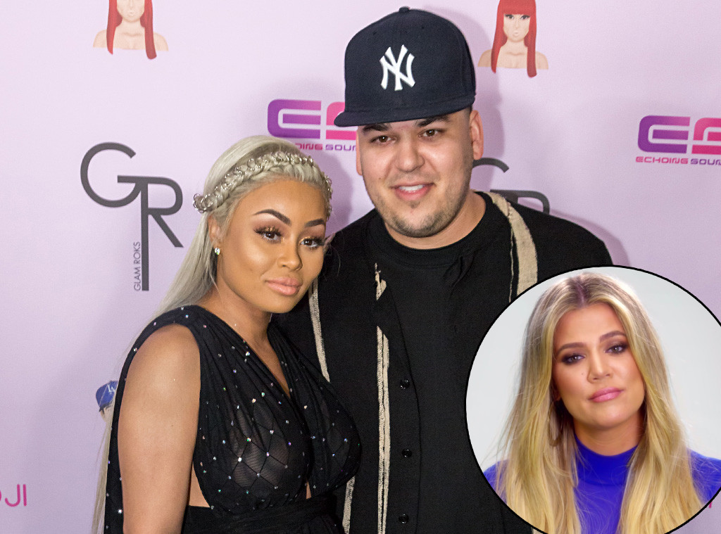 Blac Chyna, Rob Kardashian, Khloe Kardashian