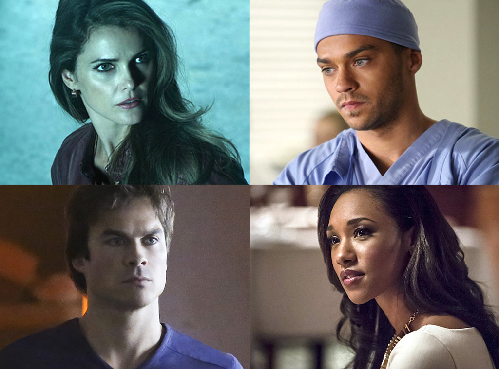 Ian Somerhalder, Keri Russell, Jesse Williams, Candice Patton, Best Actors