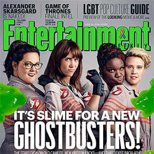 <i>Ghostbusters</i> Cast, EW Cover, June 24, 2016