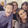 Lea Michele, Robert Buckley, Instagram