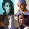 Ian Somerhalder, Keri Russell, Jesse Williams, Candice Patton, Best Actors