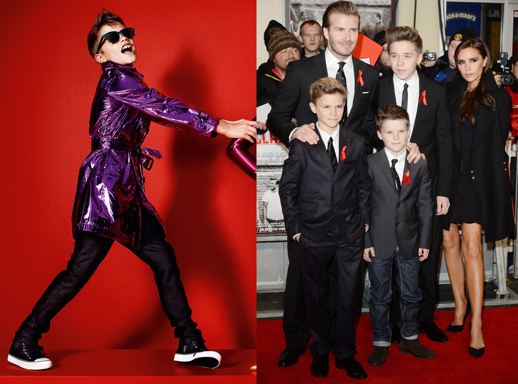Celeb Kids Who Model, Romeo Beckham