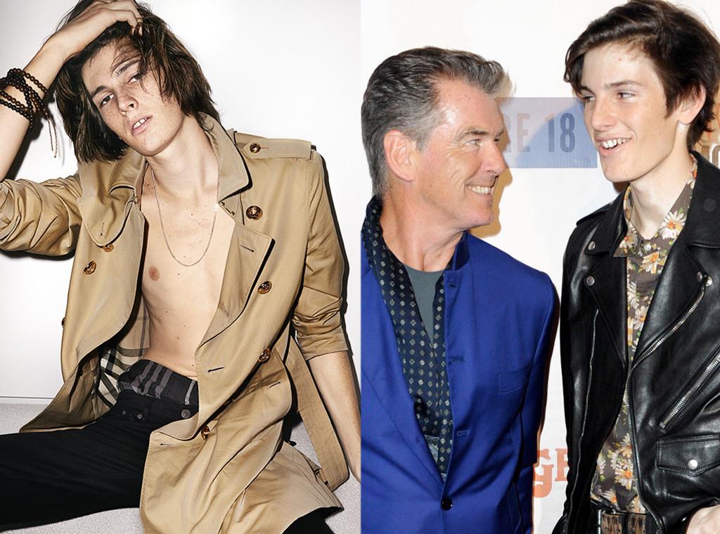 Celeb Kids Who Model, Dylan Brosnan