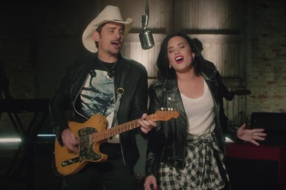 Demi Lovato, Brad Paisley
