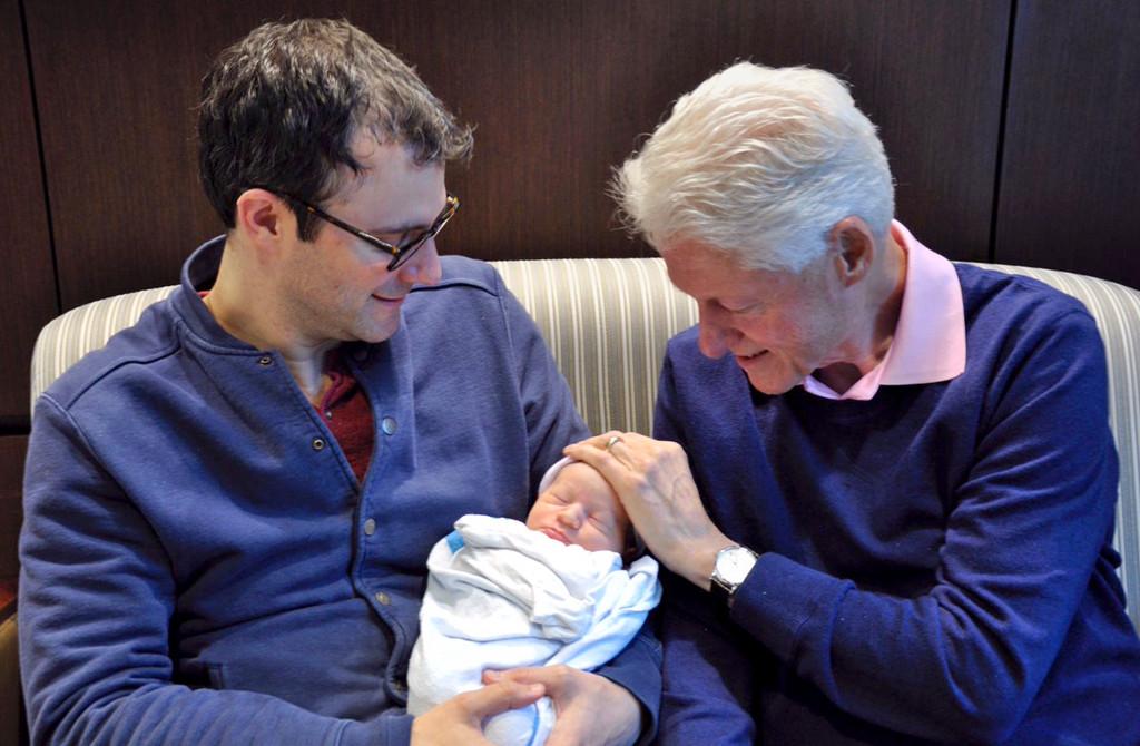 Marc Mezvinsky, Bill Clinton