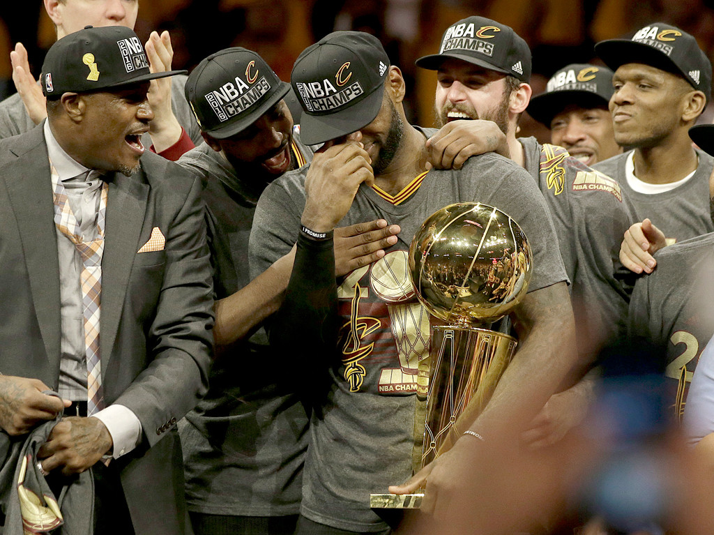 LeBron James, 2016 NBA Winner