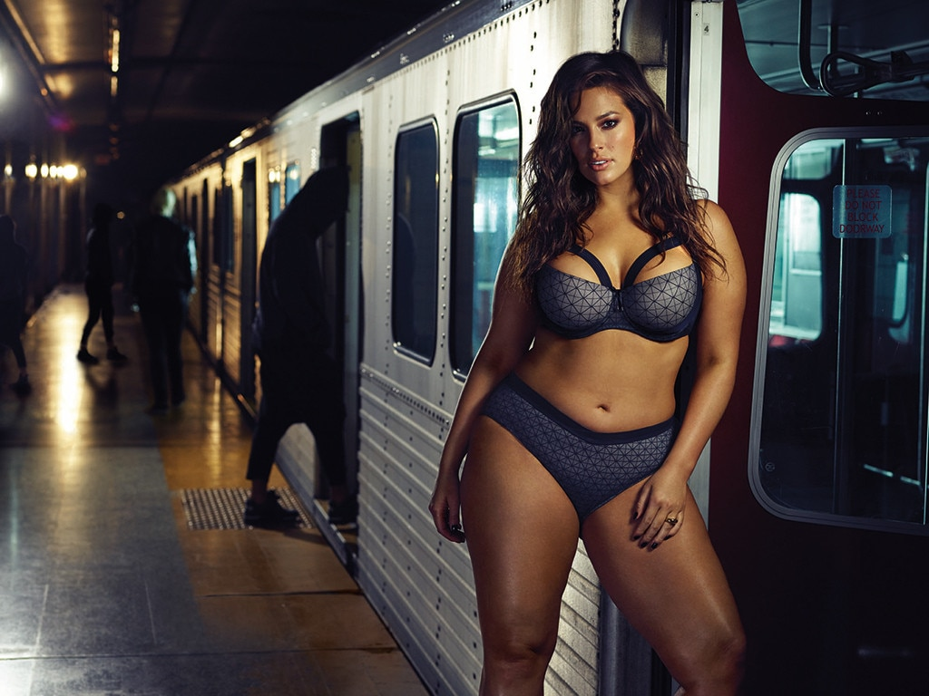 61f9129b56 Ashley Graham Wears Addition Elle Lingerie on Subway. Poll Results. Now  share your Vote