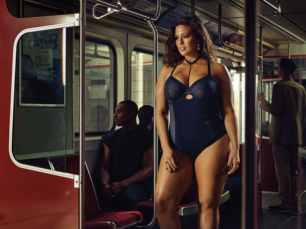 4f17398c98 Public Transportation Is Sexy from Ashley Graham Wears Addition Elle ...