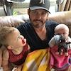 Kelly Clarkson, Brandon Blackstock, Daughter River Rose, Son Remington Alexander, Fathers Day 2016, Twitter