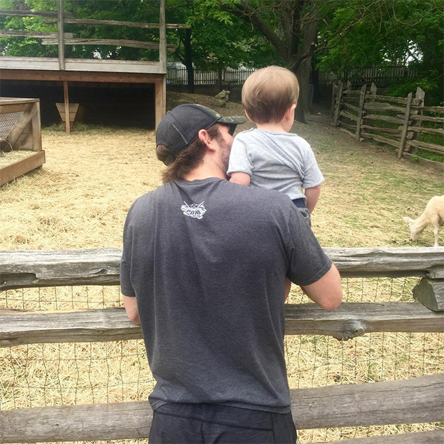 Carrie Underwood, Mike Fisher, Son Isaiah, Father's Day 2016, Instagram