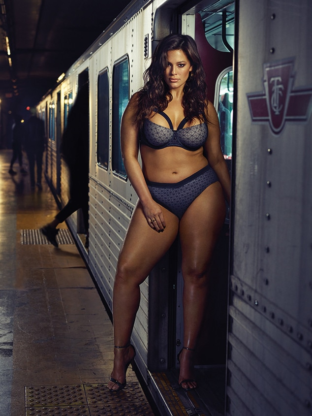 6ac688d39d Ashley Graham Wears Addition Elle Lingerie on Subway. Poll Results. Now  share your Vote. Poll Results. Now share your Vote