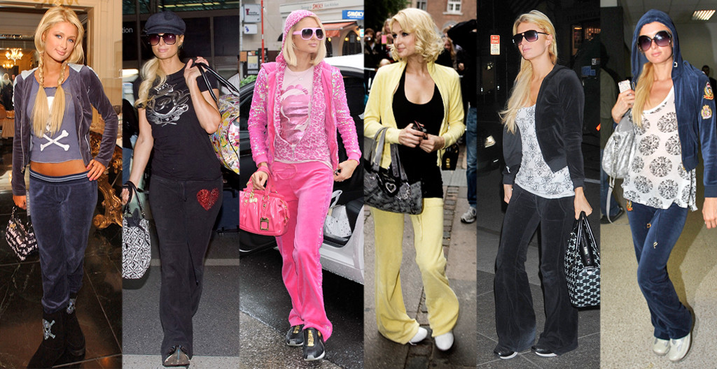 Paris Hilton, Juicy Couture Tracksuits