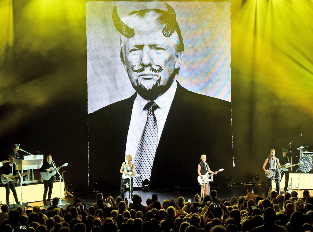 Dixie Chicks, Donald Trump with Horns