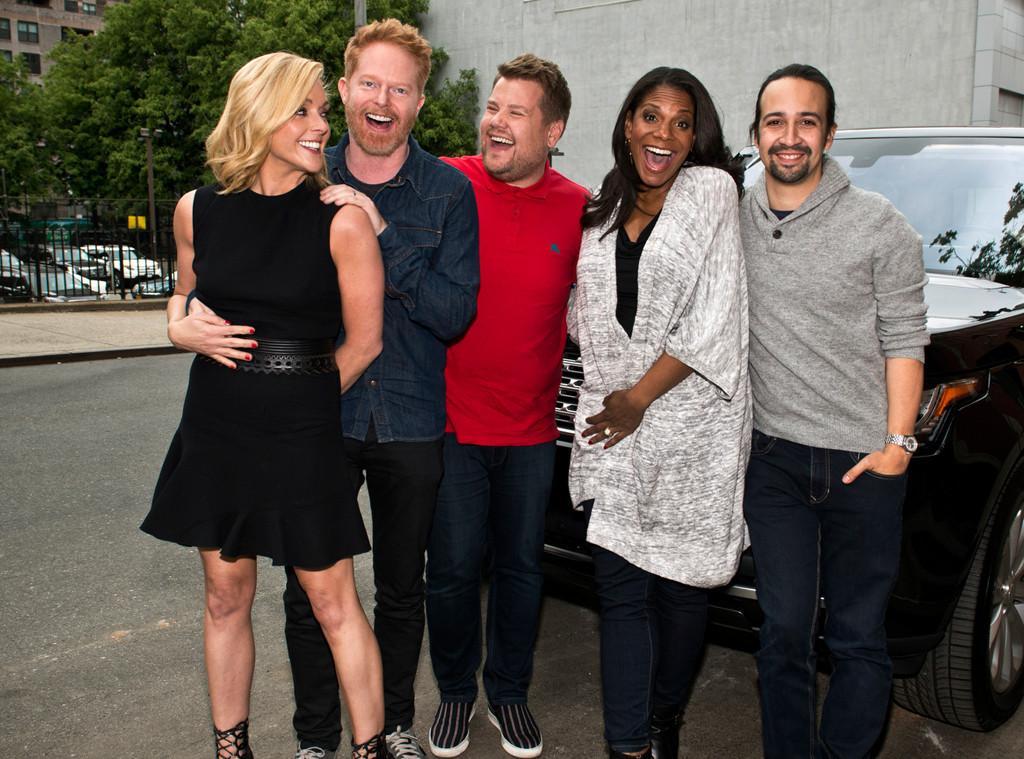 Late Late Show, Hamilton, Carpool Karaoke, James Corden, Lin-Manuel Miranda