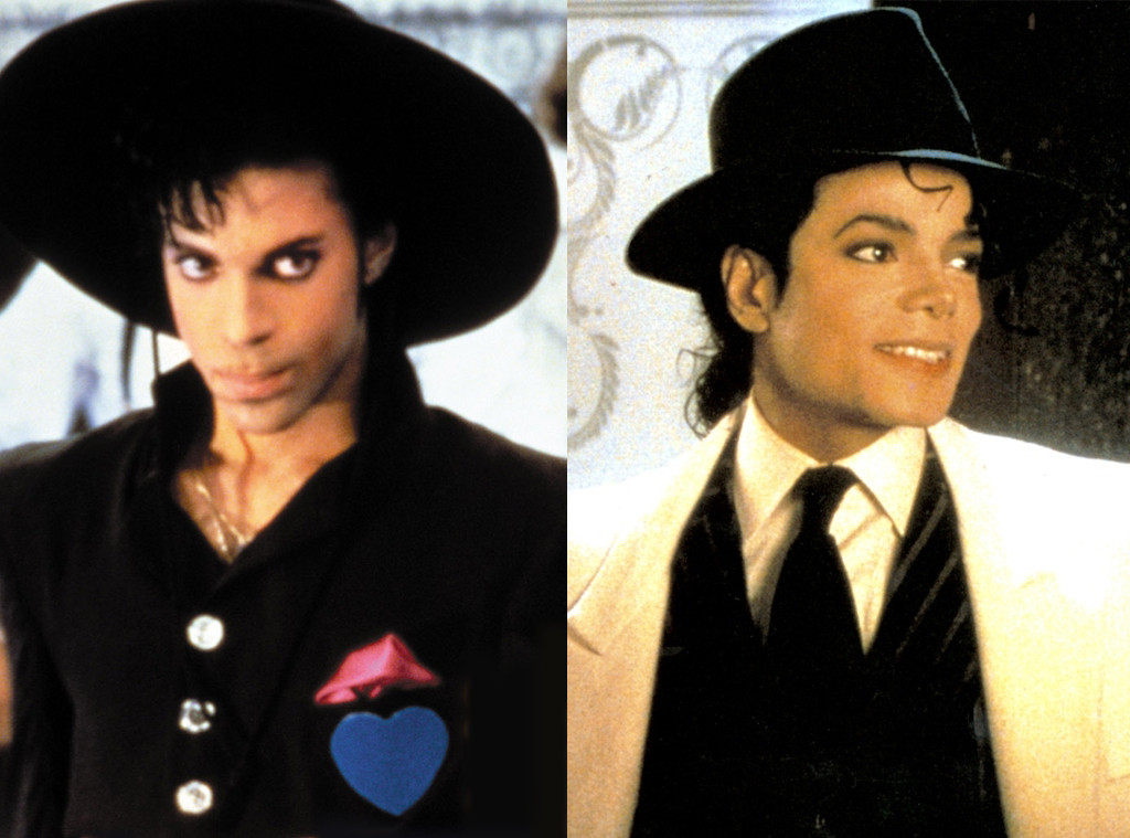 Prince, Under the Cherry Moon Michael Jackson, Moonwalker
