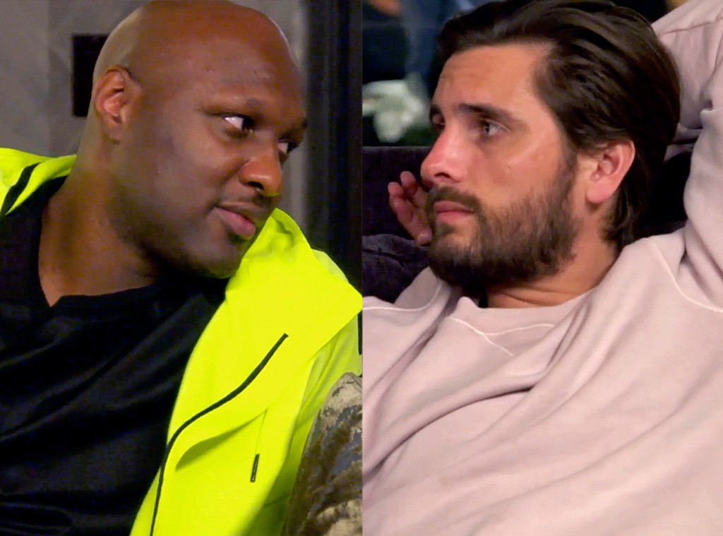 Keeping Up With The Kardashians, KUWTK, Lamar Odom, Scott Disick