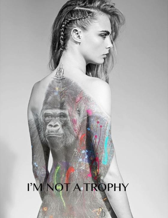 Cara Delevingne, Im Not A Trophy