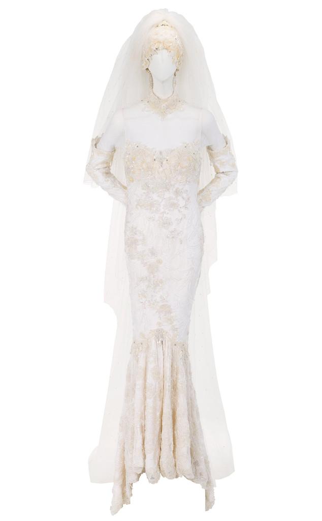 Whitney Houston, Wedding Dress Auction