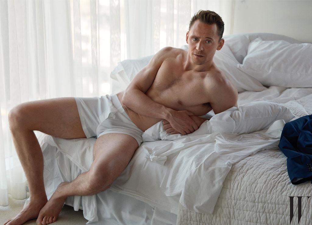 Tom Hiddleston, W Magazine