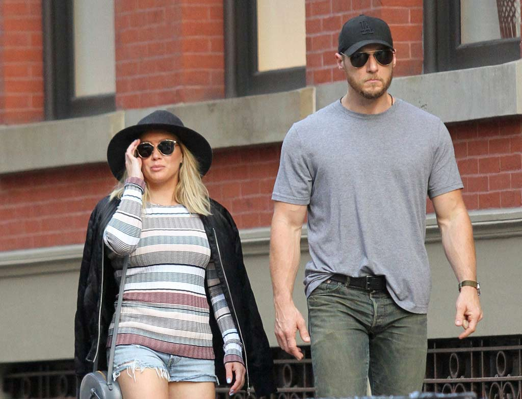 Hilary duff dating trainer
