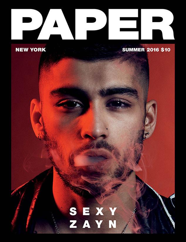 Zayn Malik, PAPER Magazine