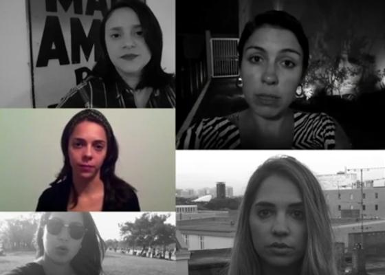 Campanha contra assedio, jornalistas