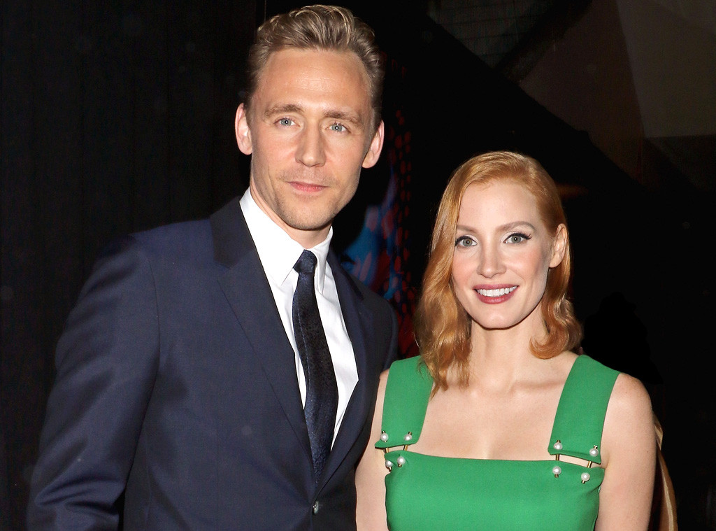 Tom Hiddleston with Single Jessica Chasthein