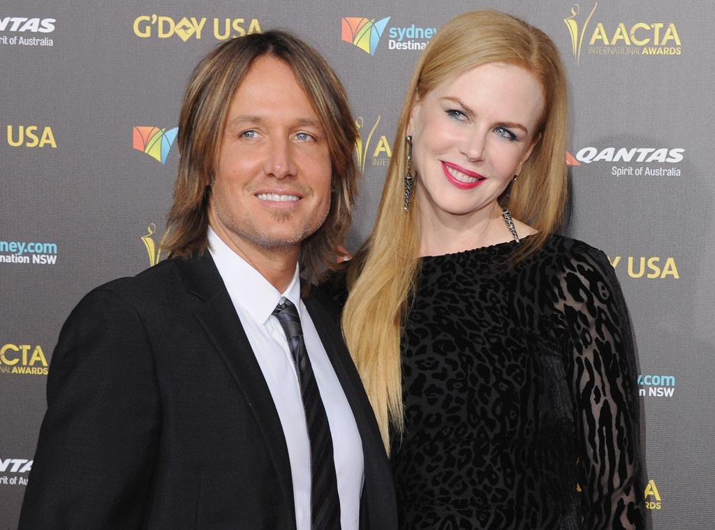 Nicole Kidman, Keith Urban, G'Day