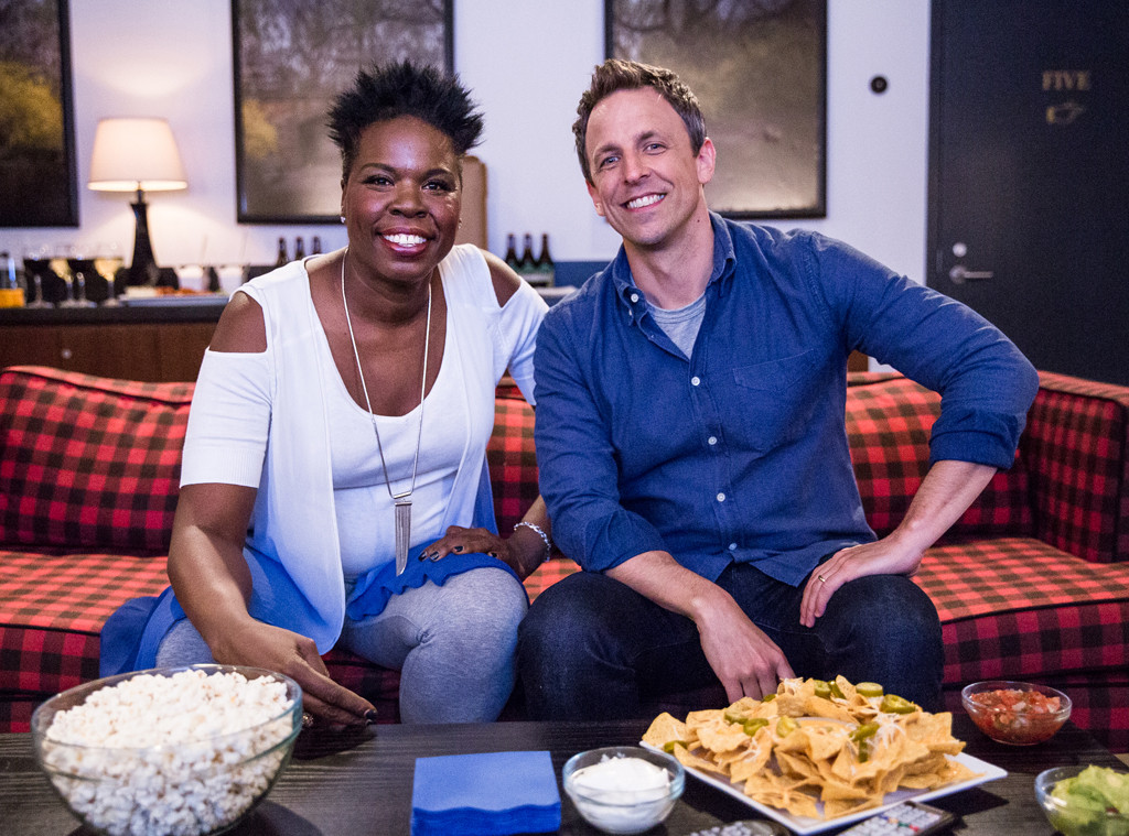 Leslie Jones, Seth Meyers, Late Night With Seth Meyers