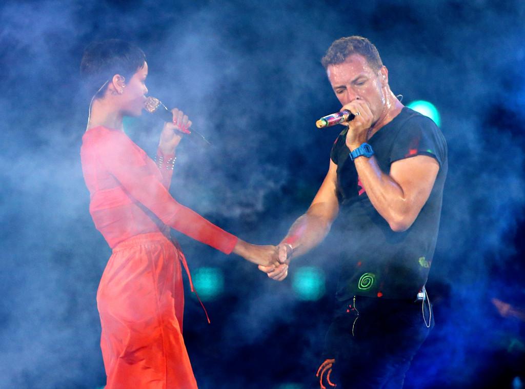 Rihanna, Chris Martin