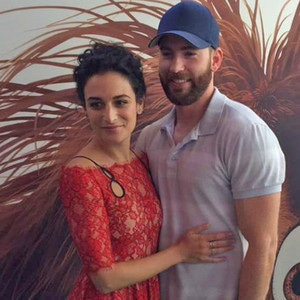 Chris Evans, Jenny Slate, Secret Life of Pets Premiere