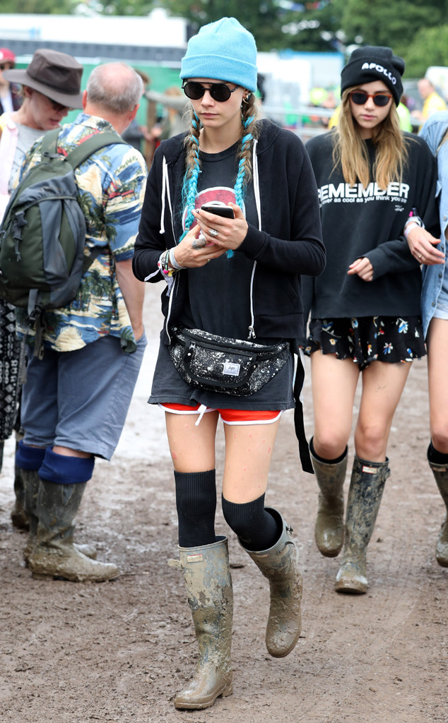 a3fb9960acd A History of Celebrities in Rain Boots at Glastonbury | E! News