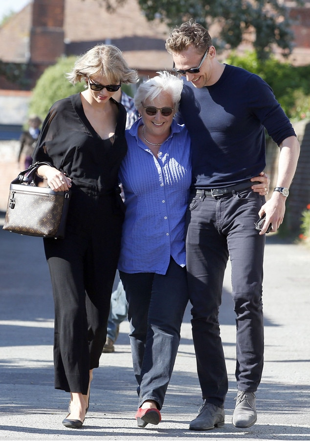 Taylor Swift, Tom Hiddleston, Tom Hiddleston's Mother