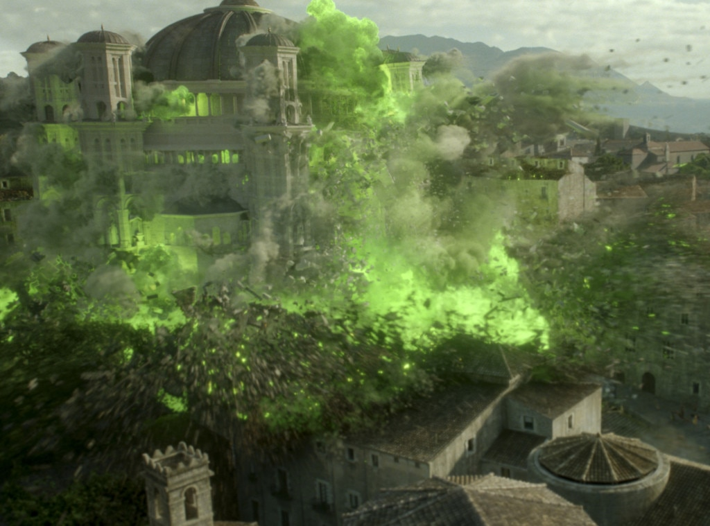 Game of Thrones, Episode, Church Explosion