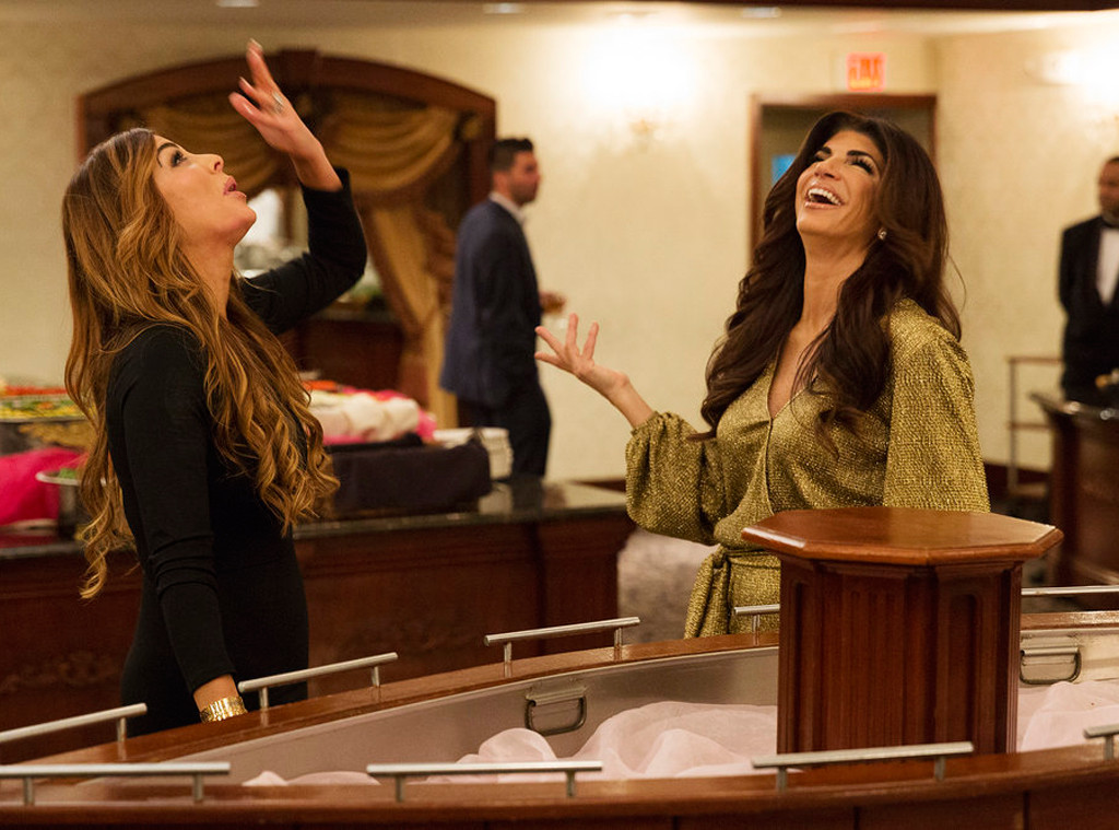 Siggy Flicker, Teresa Giudice, Real Housewives of New Jersey