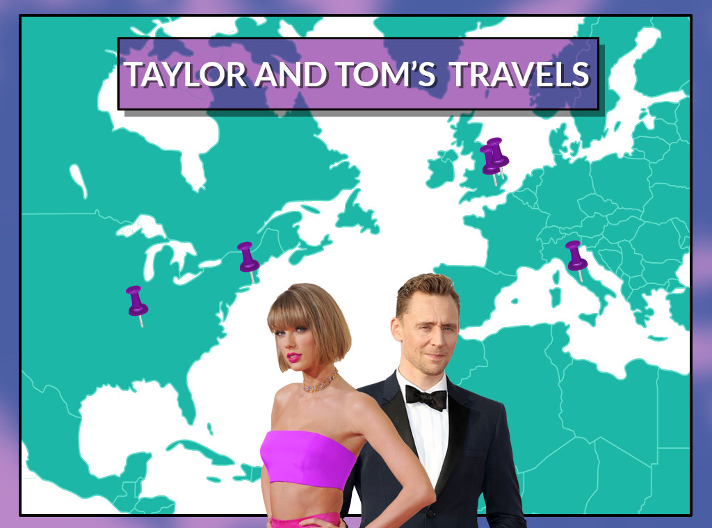 Taylor and Tom's Travels, Taylor Swift, Tom Hiddleston